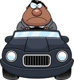 Historieta Boss Driving Angry libre illustration