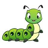 Historieta Caterpillar Imagen de archivo libre de regalías