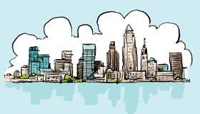 Historieta Cleveland ilustración del vector