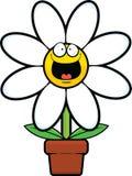 Historieta Daisy Happy Foto de archivo libre de regalías