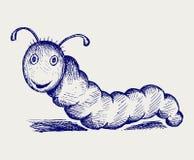 Historieta de Caterpillar Fotografía de archivo
