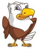 Historieta de Eagle stock de ilustración