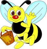 Historieta de la abeja Fotos de archivo libres de regalías