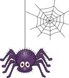 Historieta de la araña Fotos de archivo libres de regalías