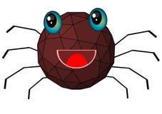 Historieta de la araña Imágenes de archivo libres de regalías