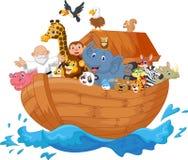 Historieta de la arca de Noah Foto de archivo