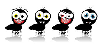 Historieta de la hormiga - imagen del vector Imagen de archivo