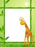 Historieta de la jirafa Fotografía de archivo libre de regalías