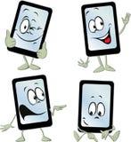 Historieta de la tableta del teléfono móvil - vector libre illustration