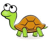 Historieta de la tortuga ilustración del vector
