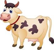 Historieta de la vaca Foto de archivo libre de regalías