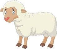 Historieta de las ovejas del bebé Fotografía de archivo