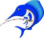 Historieta de los pescados de la aguja Imágenes de archivo libres de regalías