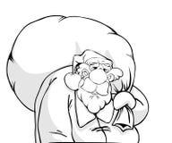 Historieta de Papá Noel Fotografía de archivo libre de regalías