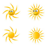 Historieta de Sun ilustración del vector