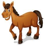 Historieta del caballo ilustración del vector