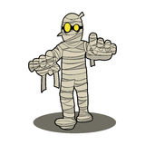 Historieta del carácter de la momia Imagen de archivo