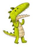 Historieta del cocodrilo Imagen de archivo