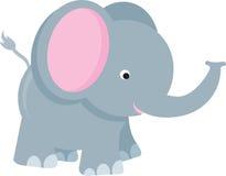Historieta del elefante ilustración del vector
