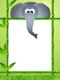 Historieta del elefante Imágenes de archivo libres de regalías