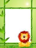 Historieta del león Foto de archivo