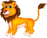 Historieta del león Imágenes de archivo libres de regalías