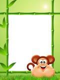 Historieta del mono Imágenes de archivo libres de regalías