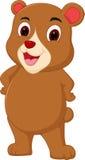 Historieta del oso de Brown Imágenes de archivo libres de regalías