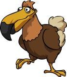 Historieta del pájaro del dodo ilustración del vector