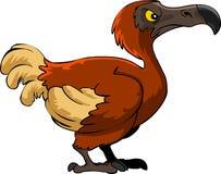 Historieta del pájaro del dodo stock de ilustración