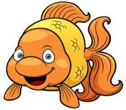 Historieta del pez de colores Foto de archivo