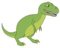 Historieta del rex del Tyrannosaurus Foto de archivo libre de regalías