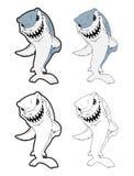 Historieta del tiburón Foto de archivo libre de regalías