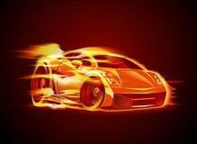 Historieta del vector sportcar Fotografía de archivo libre de regalías