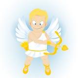Historieta divertida Cupidon Foto de archivo libre de regalías