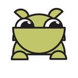 Historieta divertida de la mascota del dogo Imagenes de archivo