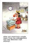 Historieta divertida sobre vida de la oficina libre illustration