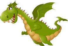 Historieta enojada del dragón Foto de archivo
