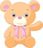 Historieta feliz del oso marrón Fotografía de archivo libre de regalías