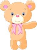 Historieta feliz del oso marrón Imagen de archivo