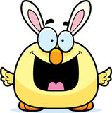 Historieta feliz Pascua Bunny Chick