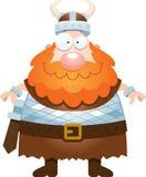 historieta feliz vikingo Imagen de archivo