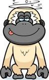 Historieta Gibbon estúpido Imagen de archivo