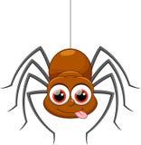 Historieta linda de la araña Imagenes de archivo