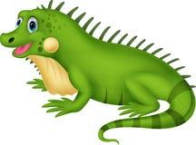 Historieta linda de la iguana libre illustration