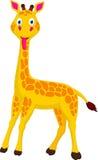 Historieta linda de la jirafa Imágenes de archivo libres de regalías