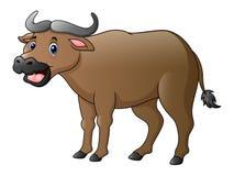 Historieta linda del búfalo libre illustration