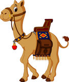 Historieta linda del camello Imagen de archivo libre de regalías