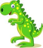 Historieta linda del dinosaurio Imagen de archivo