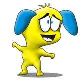 Historieta linda del perro Imagen de archivo libre de regalías